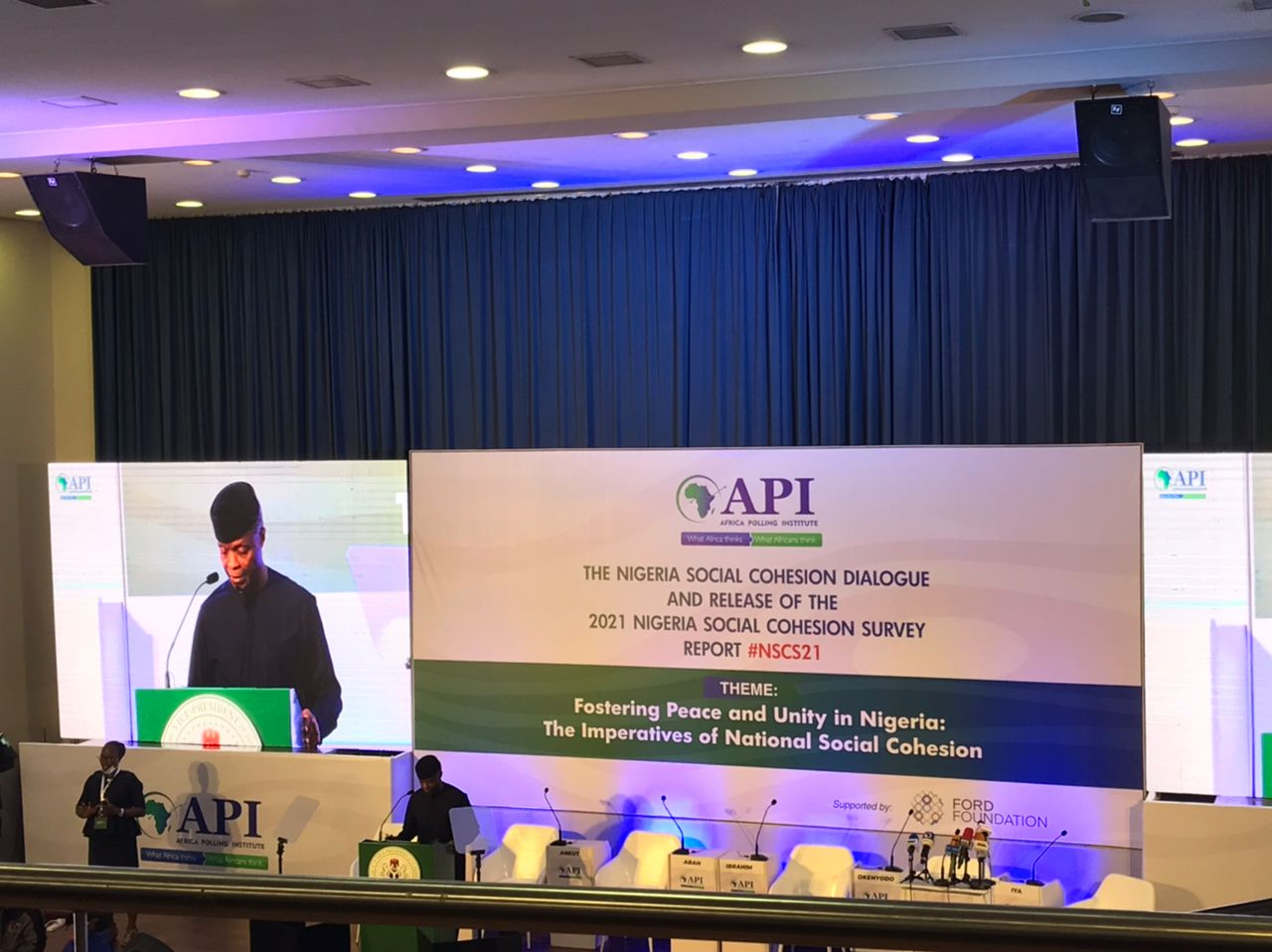 'Nigeria Is Not The First To Pass Through Challenges' - Osinbajo