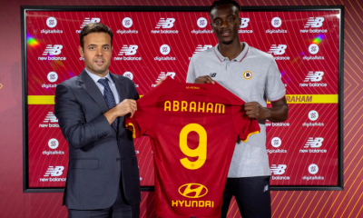 OFFICIAL: Tammy Abraham Joins AS Roma