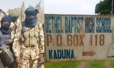 Bethel Baptist School: Bandits Have 31 Students In Captive, Says CAN