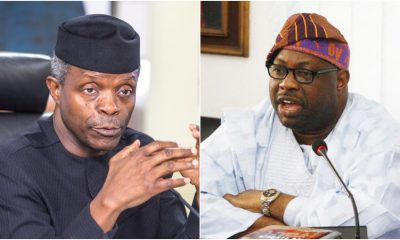 Osinbajo: I Have Nothing To Do With Dele Momodu's Campaigns