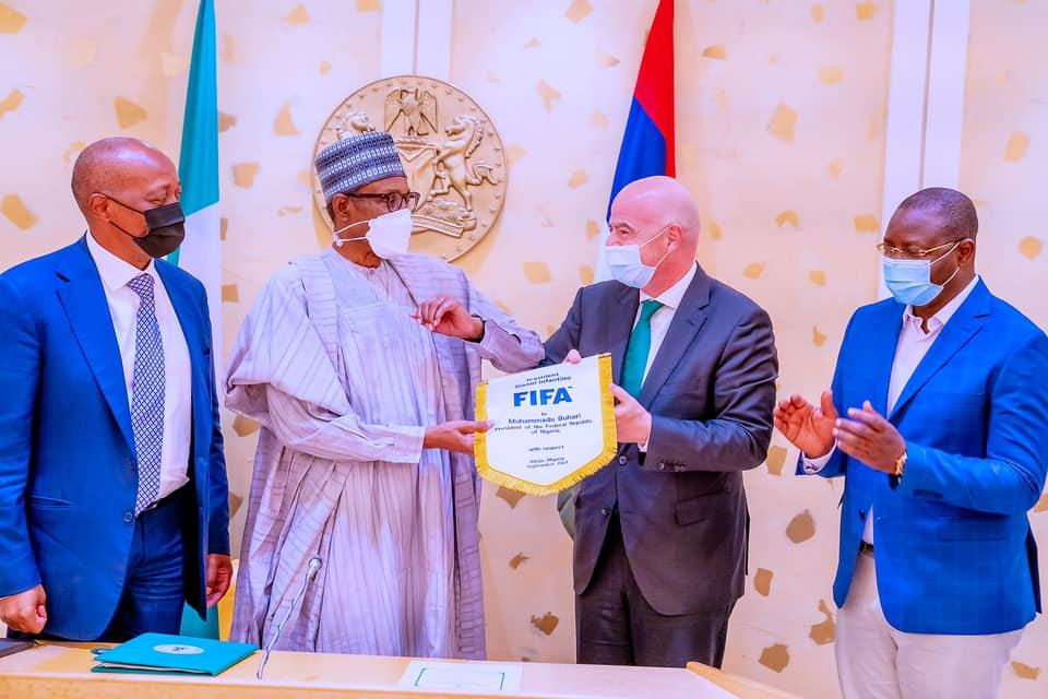 FIFA To Bring Football Competitions To Nigeria - Infantino