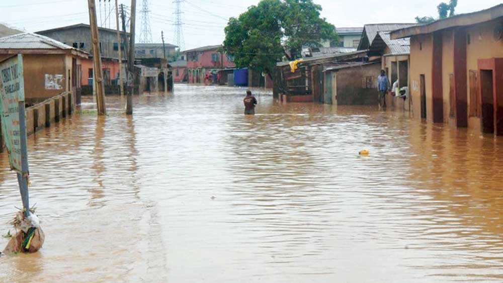 Flood Claims 4, Destroy Properties In Lugbe, FCT - FEMA