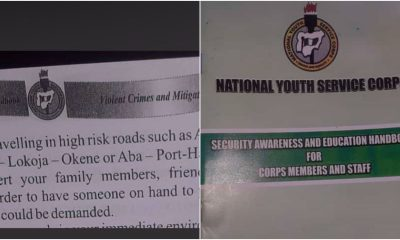 NYSC Distances Self From Viral Handbook Issued To Corps Members