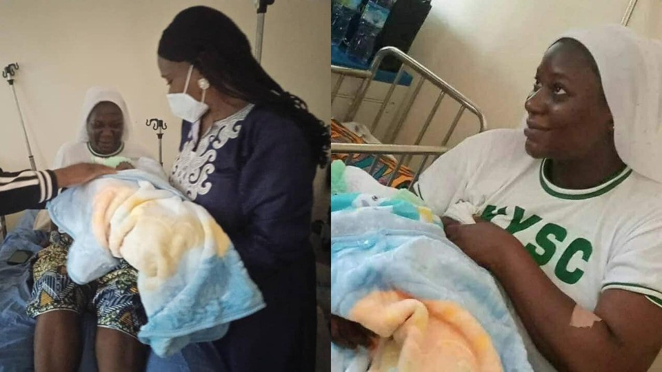 Baby Born At NYSC Camp Named After DG