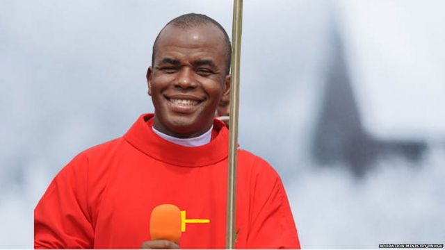 Father Mbaka Receives N30m, Yam, And Rice Donations To Stop Criticising Buhari