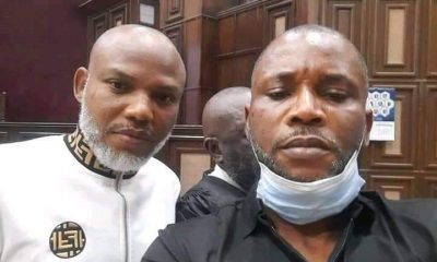 JUST IN: Heavy Security As Nnamdi Kanu Appears In Abuja Court