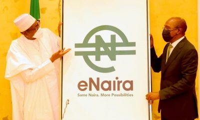 Buhari Projects Growth Of Nigeria's GDP With Adoption Of e-Naira