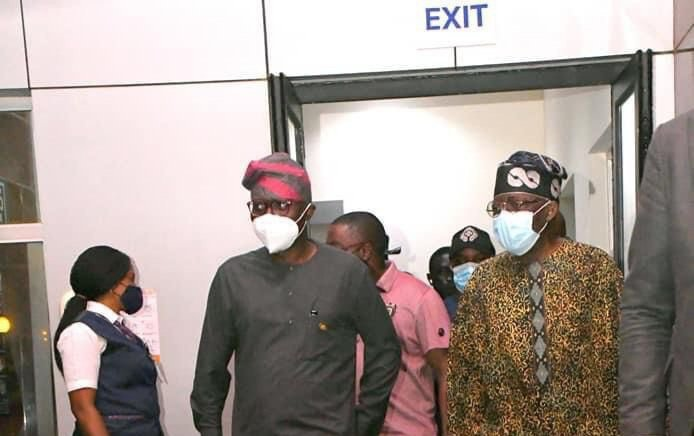 Tinubu Returns To Lagos After 3-month In London For Surgery