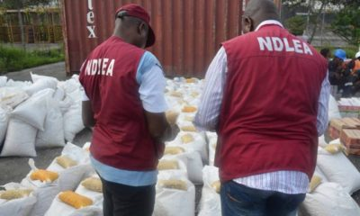 NDLEA Intercepts Over 2,000Kg Of Illegal Drugs, Arrest Suspects
