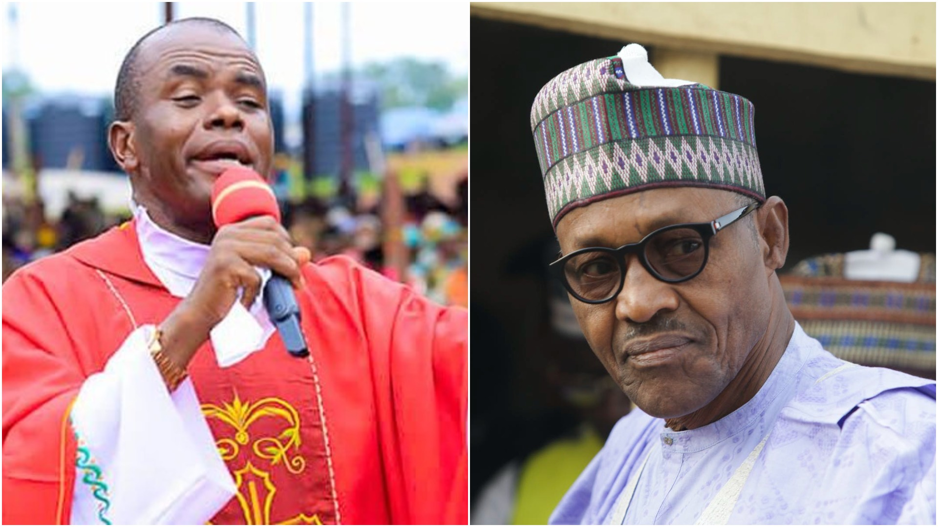 Mbaka: Buhari Is Wasting Money On Fighter Jets To Destroy Nigeria